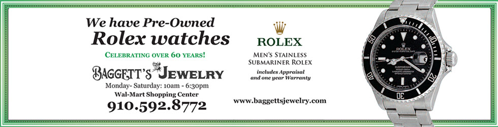 Pre-Owned Rolex Watches at Baggett's Jewelry
