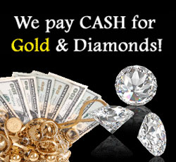 we pay cash for gold and diamonds at Baggett^s Jewelry